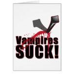 Los vampiros CHUPAN 4 Felicitacion