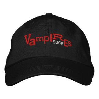 Los VAMPIROS CHUPAN el gorra del bordado de Hallow Gorra De Béisbol