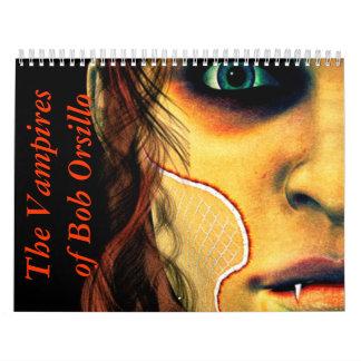 Los vampiros de Bob Orsillo Calendarios De Pared
