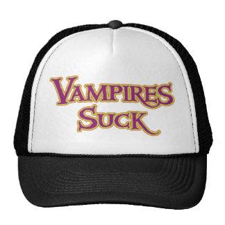 Los vampiros de Halloween chupan humor divertido Gorros