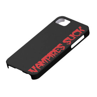 Los vampiros divertidos de Halloween chupan iPhone 5 Fundas