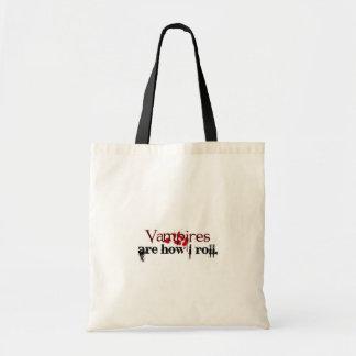 Los vampiros son cómo ruedo bolsa de mano