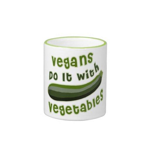 Los veganos lo hacen con las verduras taza