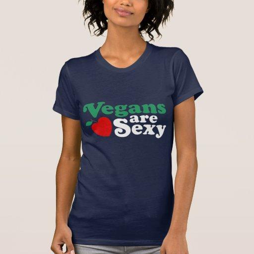 Los veganos son atractivos camiseta