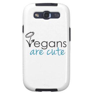 Los veganos son lindos - los abogados crean para r galaxy SIII cobertura