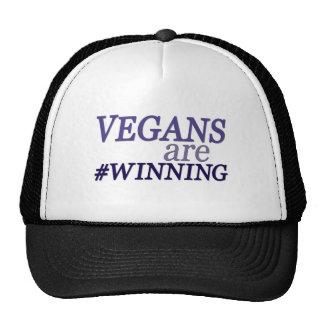Los veganos #Winning Gorro De Camionero