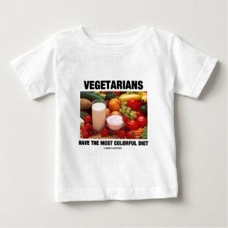 Los vegetarianos tienen la dieta más colorida remeras
