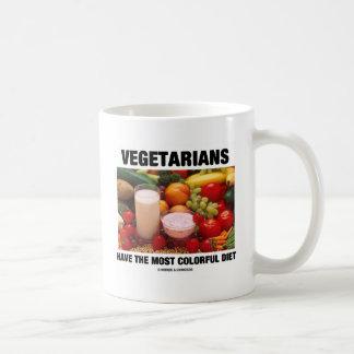 Los vegetarianos tienen la dieta más colorida taza clásica