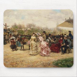 Los vendedores de la flor, 1883 tapetes de ratones