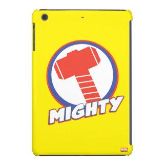 Los vengadores montan el logotipo poderoso del carcasa para iPad mini retina