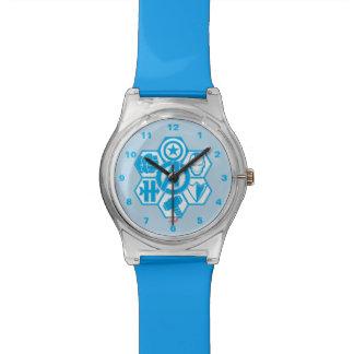 Los vengadores montan la insignia del icono relojes de mano