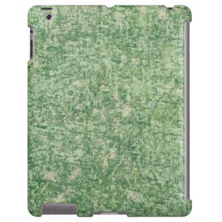Los verdes texturizaron la caja del iPad 2/3/4 Funda Para iPad