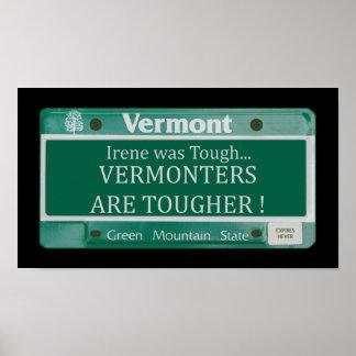 Los Vermonters son un poster más duro Póster