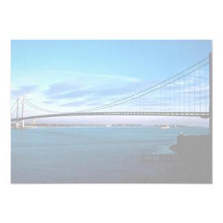 Los Verrazano-Estrechos tienden un puente sobre, Invitacion Personalizada