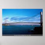 Los Verrazano-Estrechos tienden un puente sobre, N Posters