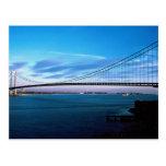 Los Verrazano-Estrechos tienden un puente sobre, N Tarjetas Postales