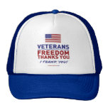 Los veteranos, libertad le agradecen gorra