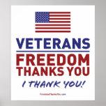 Los veteranos, libertad le agradecen impresiones