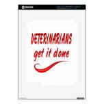 Los veterinarios lo consiguen hecho iPad 3 pegatinas skins