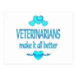 Los veterinarios lo hacen mejor tarjetas postales