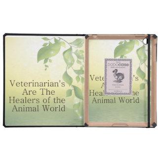 Los veterinarios son curadores