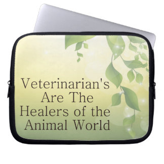 Los veterinarios son curadores funda portátil