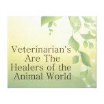 Los veterinarios son curadores impresiones de lienzo