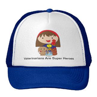 Los veterinarios son gorra de los superhéroes