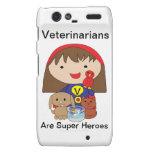 Los veterinarios son superhéroes droid RAZR carcasa