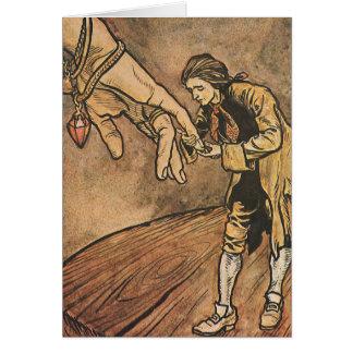 Los viajes de Gulliver del vintage de Arturo Tarjeta De Felicitación