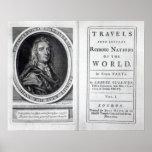 "Los ""viajes de Gulliver"" por Jonathan Swift, 1726 Posters"