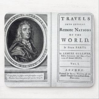 "Los ""viajes de Gulliver"" por Jonathan Swift, 1726 Tapete De Raton"