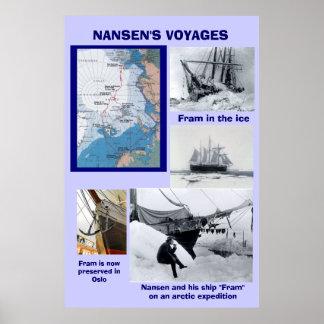 Los viajes de Nansen, Fram Póster