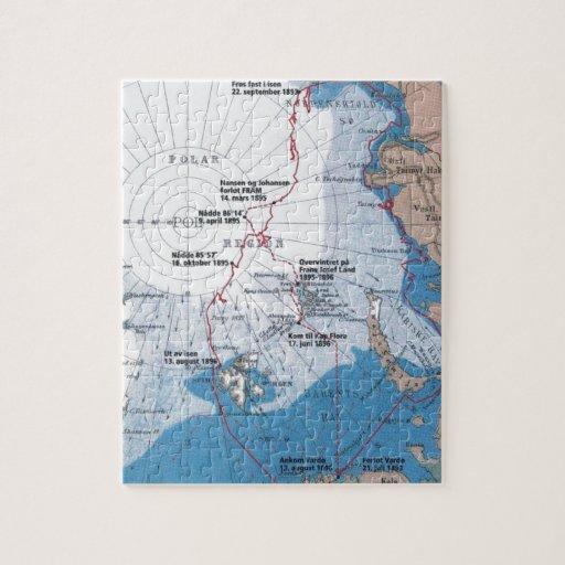 Los viajes polares de Nansen Puzzles