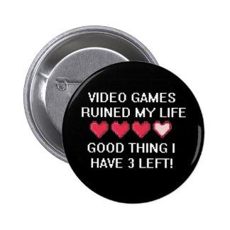 Los videojuegos arruinaron mi estilo de vida 1 pins