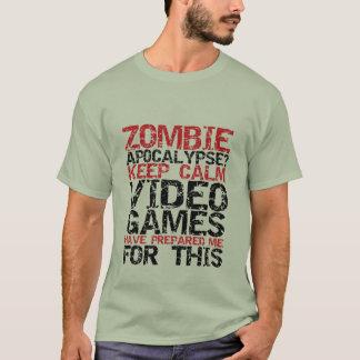 Los videojugadores de la apocalipsis del zombi playera