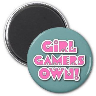 ¡Los videojugadores del chica poseen Imán