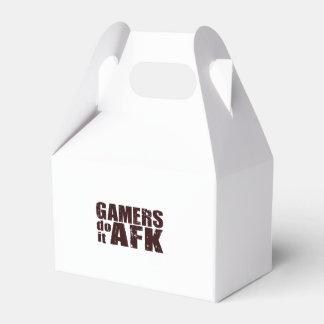 Los videojugadores lo hacen AFK Caja Para Regalos De Fiestas