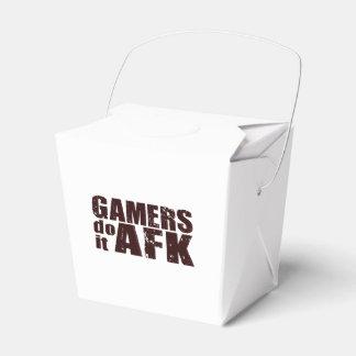 Los videojugadores lo hacen AFK Cajas Para Regalos