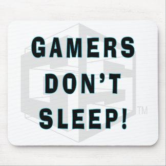 Los videojugadores no duermen mouse pads