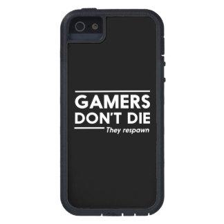 Los videojugadores no mueren iPhone 5 carcasa