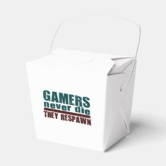 Los videojugadores nunca mueren… caja para regalos