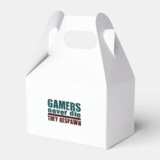 Los videojugadores nunca mueren… cajas para regalos de fiestas
