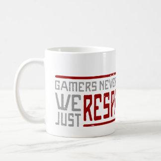 Los videojugadores nunca mueren - el estilo 2 taza