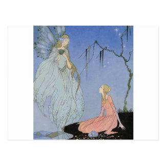 Los viejos cuentos de hadas franceses 1919-1920 de tarjetas postales