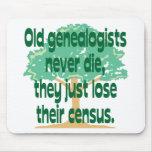Los viejos Genealogists nunca mueren Tapetes De Raton