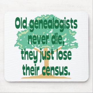 Los viejos Genealogists nunca mueren Mousepad