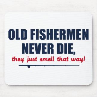 Los viejos pescadores nunca mueren, ellos apenas h tapetes de ratones