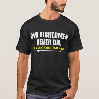 Los viejos pescadores nunca mueren, ellos apenas playera