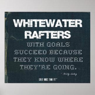 Los vigas de Whitewater con metas tienen éxito en  Póster